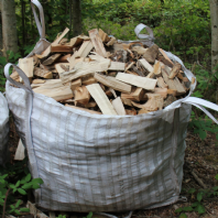 Bulk Bag of Small Logs and Fragments